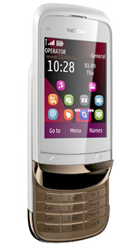 Nokia C2 02 Touch and Type  Mobile Price in Pakistan