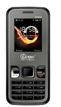 Icell MobileX5630  Mobile Price in India