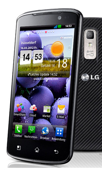 LG Optimus TrueHD LTE P936  Mobile Price in India