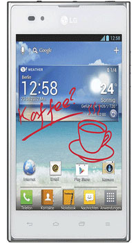 LG Optimus Vu P895  Mobile Price in Pakistan